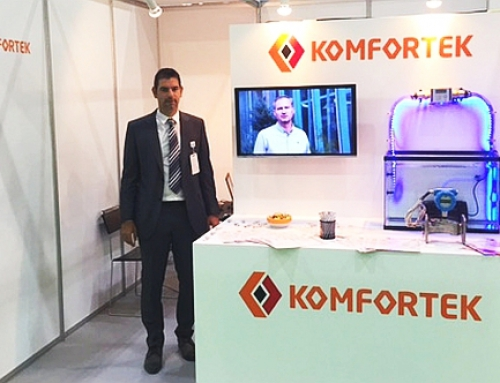 Komfortek presents Metering Solutions at Water, Energy, Technology, and Environment Exhibition (WETEX 2015), in Dubai